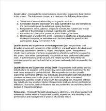 proposal template construction bid proposal template free