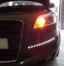led lights for body shop audi q7 led light upgrade by the bodyshop the body shop