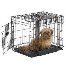 Kong Dog Beds Kong Two Door Dog Crate Black Small Pets At Home