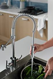 Professional Kitchen The Bristan Artisan Professional Kitchen Mixer Tap Has A Pull Out