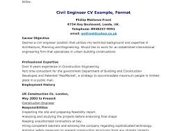 cover letter civil engineering position