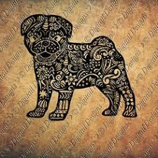 coloriage chien bouledogue graphé coloriage pinterest chien