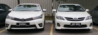 toyota corolla 2014 altis 2014 toyota corolla altis motor trader car