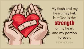 free psalm 73 26 heart may fail ecard email free personalized