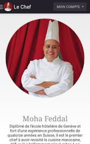 chef cuisine maroc chef moha android apps on play