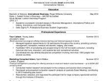 recent college graduate resume samples click here to download