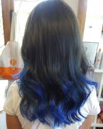 how long does hair ombre last blue ombre hair color light and dark shades 2017