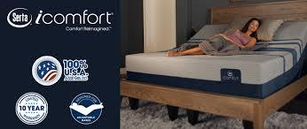 Serta Icomfort Bed Frame Serta Icomfort Mattresses Taft Furniture Sleep Center