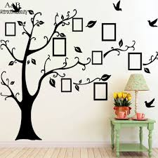 compare prices on wallstickers family tree online shopping buy homdox x large frame quotes wallstickers family art decals tree birds photo home decor wall