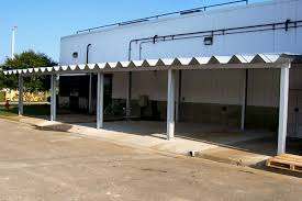 Industrial Awnings Canopies Canopies And Awnings By Steelmaster Buildings