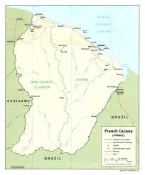 Map Of France Cities by Maps Of French Guiana Map Library Maps Of The World