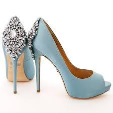wedding shoes blue badgley mischka kiara blue radiance wedding evening shoes