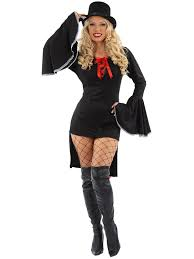 Vampiress Halloween Costumes Ladies Gothic Vampire Costume Womens Vampiress Halloween