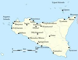 Syracuse Map Hamilcar Barca Arrives In Sicily Triumphs Of History