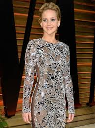 Jennifer Lawrence Vanity Fair Party Jennifer Lawrence Makes Wearing A See Through Dress Look Normal