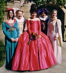 themed weddings a themed elizabethan fancy dress wedding photos page 1