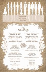 program for wedding ceremony template sparkly background modern new wedding ceremony outline popular