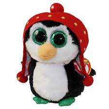 ty beanie boos freeze penguin glitter eyes regular size