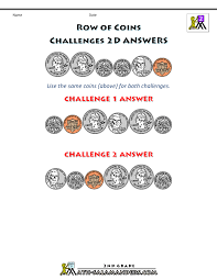 Images Of Math Worksheets Free Printable Money Worksheets Money Challenges