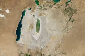 Aral Sea Map The Aral Sea Was Once The 4th Largest Lake In The World Now It U0027s