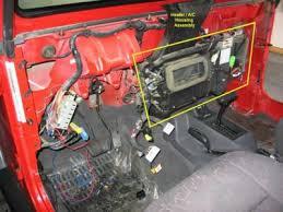 1997 jeep wrangler problems 1997 jeep wrangler heater blower heater problem 1997 jeep