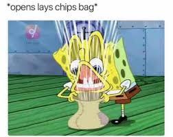Lays Chips Meme - opens lays chips bag meme xyz