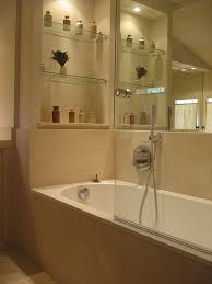 Glass Bathroom Shelves Glass Bathroom Shelves That Require Decoration Home Interior