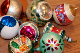 vintage christmas ornaments the polished pebble collecting vintage christmas ornaments