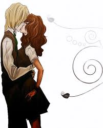 imagenes anime kiss dramione loveteam dramione sweet kiss anime