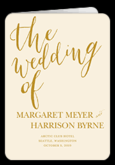customized wedding programs unique wedding programs shutterfly