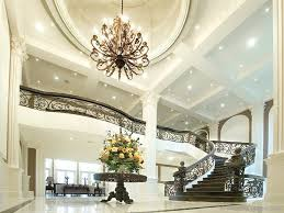 high ceiling recessed lighting recessed lighting foyer for high ceilings luxury on replacing