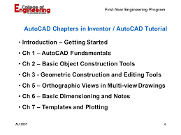 autocad tutorial getting started first year engineering program engineering h191 engineering