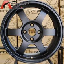 toyota corolla with rims 15x7 rota grid wheels 4x100 flat black rims fits 4 lug toyota
