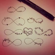 13 infinity symbol tattoos picture idées de tatouages pinterest