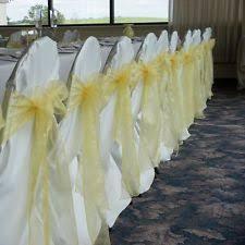 Chair Sashes Wedding Fabric Wedding Chair Covers Ebay