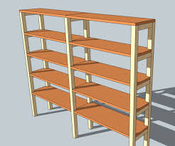 Wood Shelving Units by Diy Shelving Unit 9 Steps With Pictures
