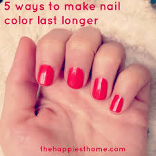 nail polish colors that make your nails look longer how you can
