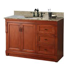 78 Bathroom Vanity by Foremost Naples 49 In W X 22 In D Bath Vanity In Warm Cinnamon