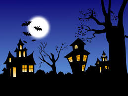 club penguin halloween background halloween haunted house silhouette stock photography image