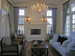 custom window treatments living room decor window ideas