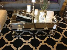 gold mirrored coffee table coffee tables