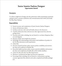 fashion designer resume sample eliolera com