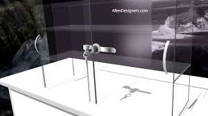4 sliding glass door sliding door locks for countertop showcase avi youtube