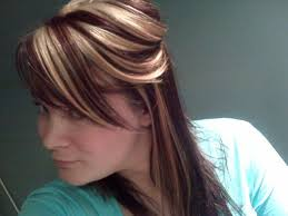 blonde and burgundy hairstyles burgundy blonde medium hair styles ideas 37554