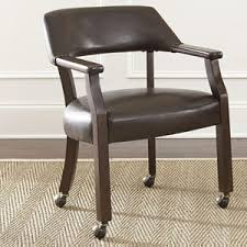 Dining Chairs With Casters Dining Chair With Casters Akron Cleveland Canton Medina