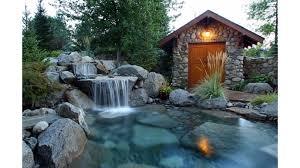 waterfalls decoration home home decor 4k waterfall wallpaper free clipgoo