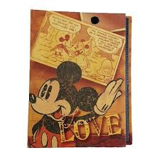 Mickey Mouse Photo Album Mickey Mouse Retro Love Small Photo Album Monogram Mickey