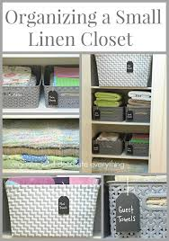 linen closet organizing a small linen closet organize and decorate everything