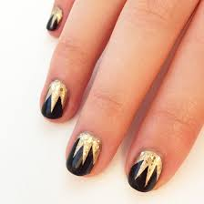 fashionable u0026 exclusive golden nail art ides for girls trendy