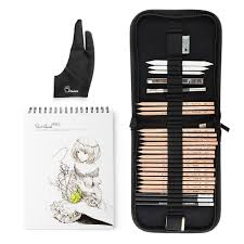 marco 29 pcs professional sketch u0026 drawing art tool kit with